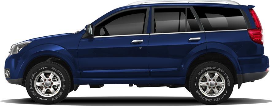 H3 цвета «Темно-синий сапфир»